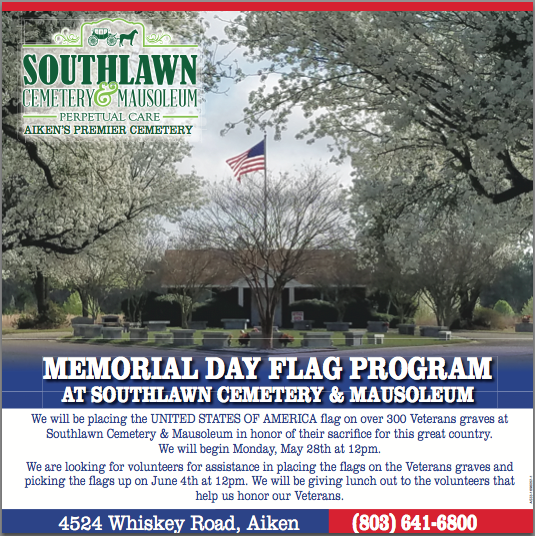 Memorial Day Flag Program